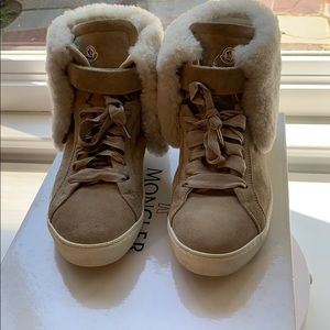 100% authentic Moncler shoes